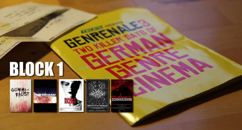 Die Kurzfilme der Genrenale3 - Die-Block-1-Review