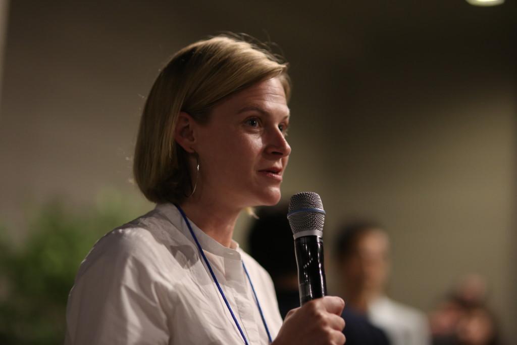 Chefin vom Webfest Berlin: Meredith Burkholder (Foto: Cho Kyu Ha - http://snapcho.co.kr)